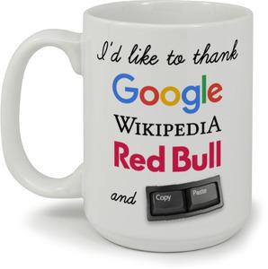 I'd Like to Thank Graduation Mug