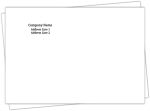Create Your Own 4 By 6 Envelope
