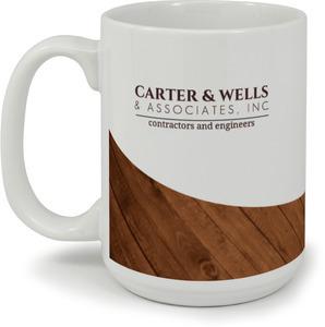 Carter & Wells Wood Grain Coffee Coffee Mug