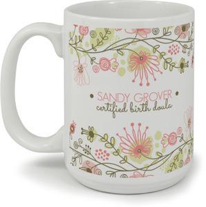 Floral Fun Coffee Coffee Mug