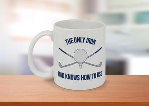 The Only Iron Funny Photo Mug