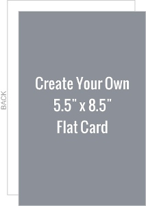 Create Your Own 5.5x8.5 Card