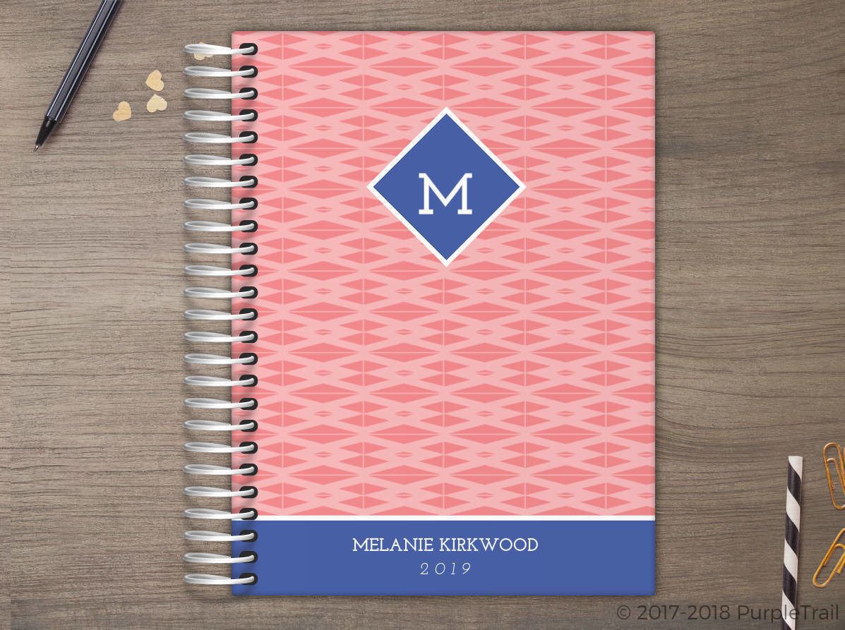 Aztec Triangle Pattern Meal Planner
