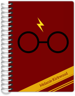 Red & Yellow Stripes Wizard Tiny Planner