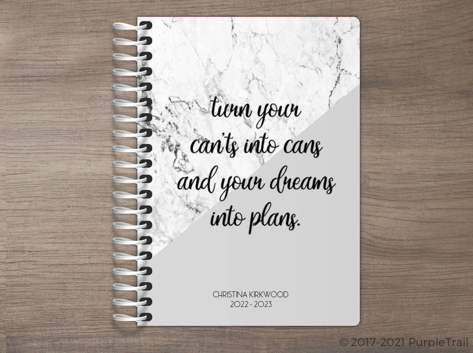 Dreams Into Plans Tiny Planner