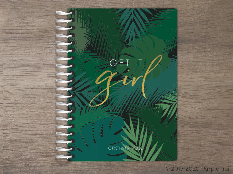 Tropical Get It Girl Tiny Planner
