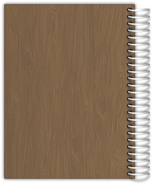 Faux Wood Make It Happen Weekly Planner