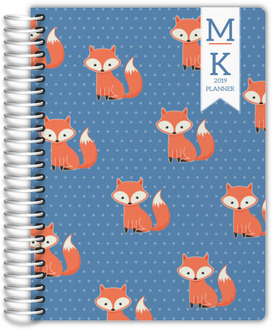 Cute Fox Weekly Planner