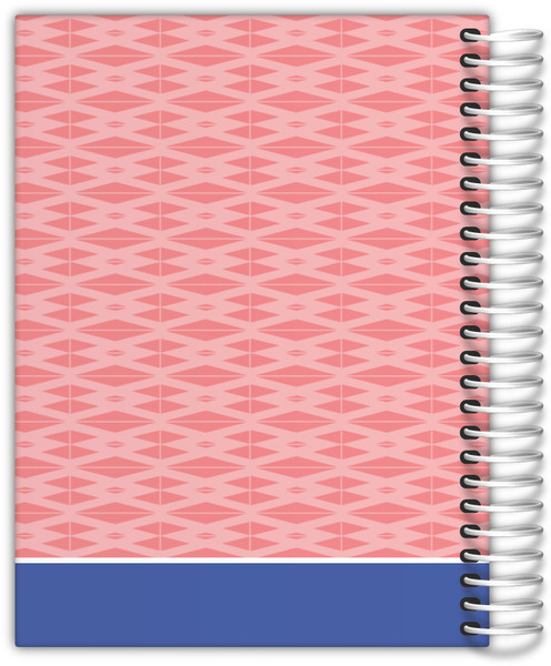 Aztec Triangle Pattern Weekly Planner