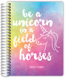Watercolor Unicorn Monthly Planner