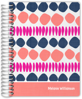 Circle Doodle Pattern Student Planner