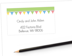 Tiny Flags Address Labels