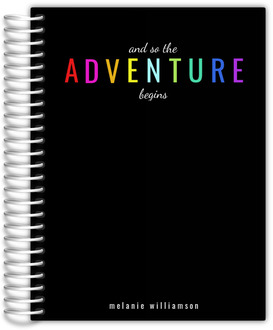 The Adventure Begins Student Planner