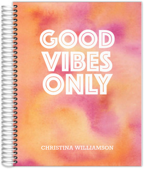 Good Vibes Only Student Planner