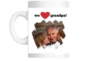 We Love Grandpa Mug
