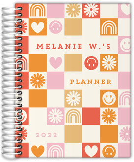 Modern Stay Humble Monthly Planner