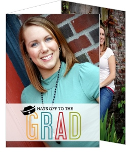 Colorful Nursing Hat Nursing School Graduation Invitation
