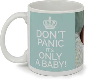 Don't Panic Baby Custom Mug