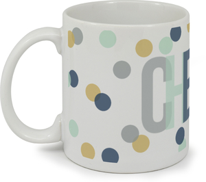 Confetti Cheers Custom Mug