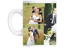 Love Story Collage Mug