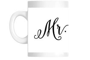 Rustic Arrow Mr. Custom Mug