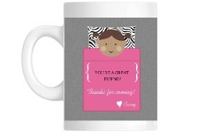 Pink And Zebra Sleeping Bag Mug
