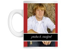 Classic Red Graduation Custom Mug