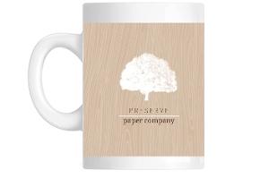 White Tree Business Custom Mug