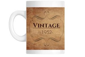 VINTAGE 1952 Custom Mug