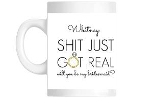 Bridesmiad Photo Custom Mug