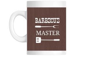 Brown Western Mug