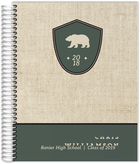 Bear Crest Weekly Planner 8.5x11