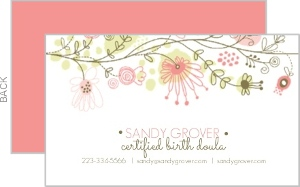 Floral Fun Business Card