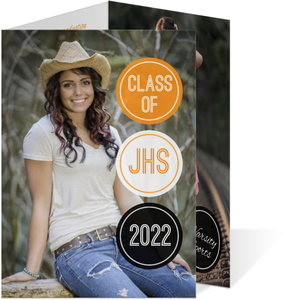 School Spirit Circles Graduation Announcement
