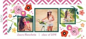 Floral Garden Graduation Announcement