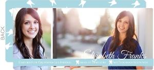 Blue Simple Photo Dental Graduation Announcement