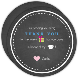 Graduation Announcement Icon Thank You