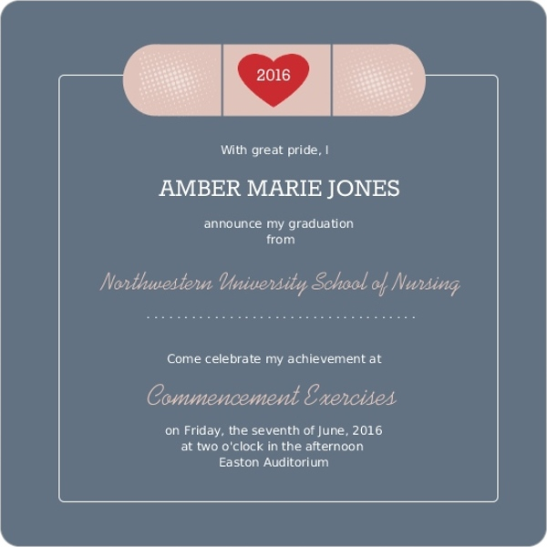 Personalized Graduation Invitations as awesome invitation example