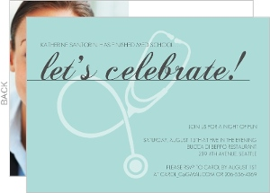 medical school graduation invitations  medical school graduation, Quinceanera invitations