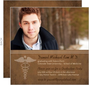 Brown Medical School Grad Invite