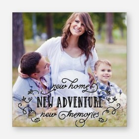 New Memories Foliage Canvas Print