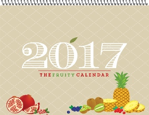 Fruity Kitchen Family Photo Calendar