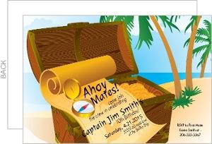 Pirate treasure birthday party invitations 2236 0 big