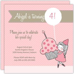 Princess Party Invitations, Custom Princess Invites and Cards