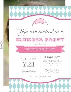 slumber party invitations  pajama party invitations, Party invitations