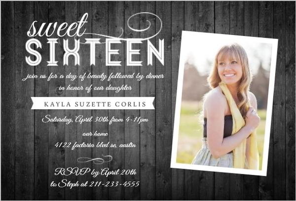 Teen Birthday Invitations & Teen Birthday Party Invitations