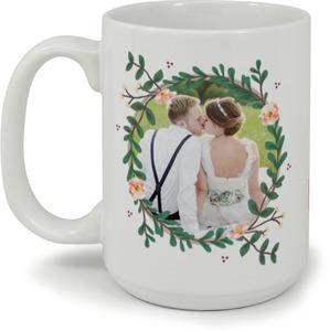 Spring Greenery Florals Coffee Mug