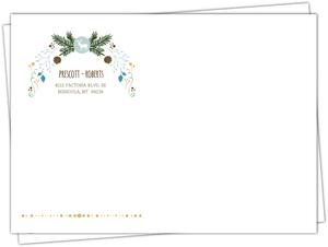 Whimsical Woodland Foliage Envelope