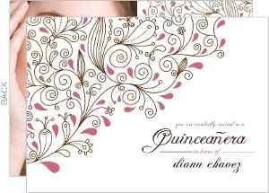 Elegant La Quinceanera Invitation
