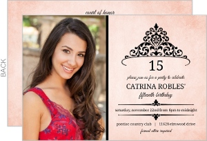 Quinceanera Invitations & Quinceanera Party Invitations